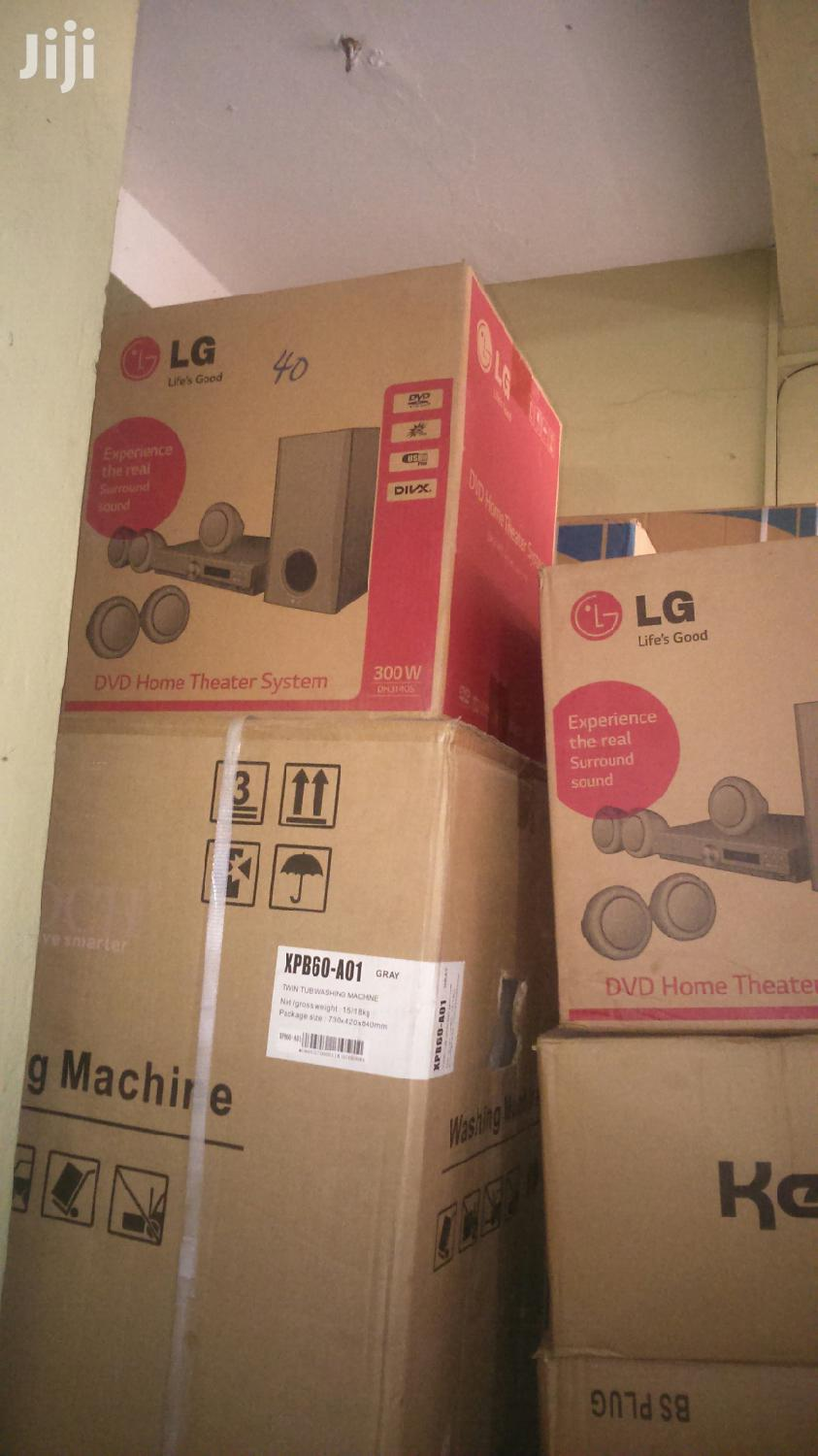 Experience the Real Sound LG 300W DVD Home Theater System
