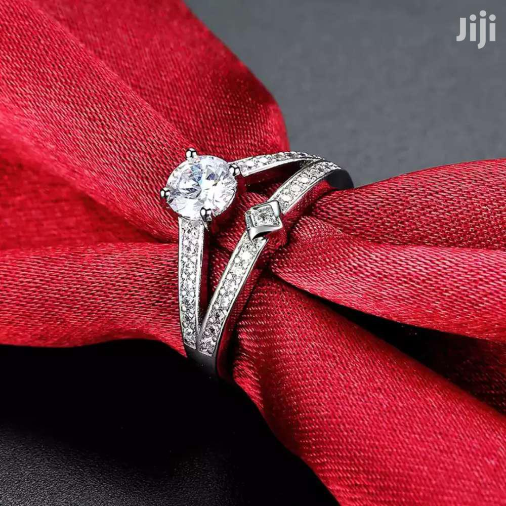 Promise Ring Silver Plated