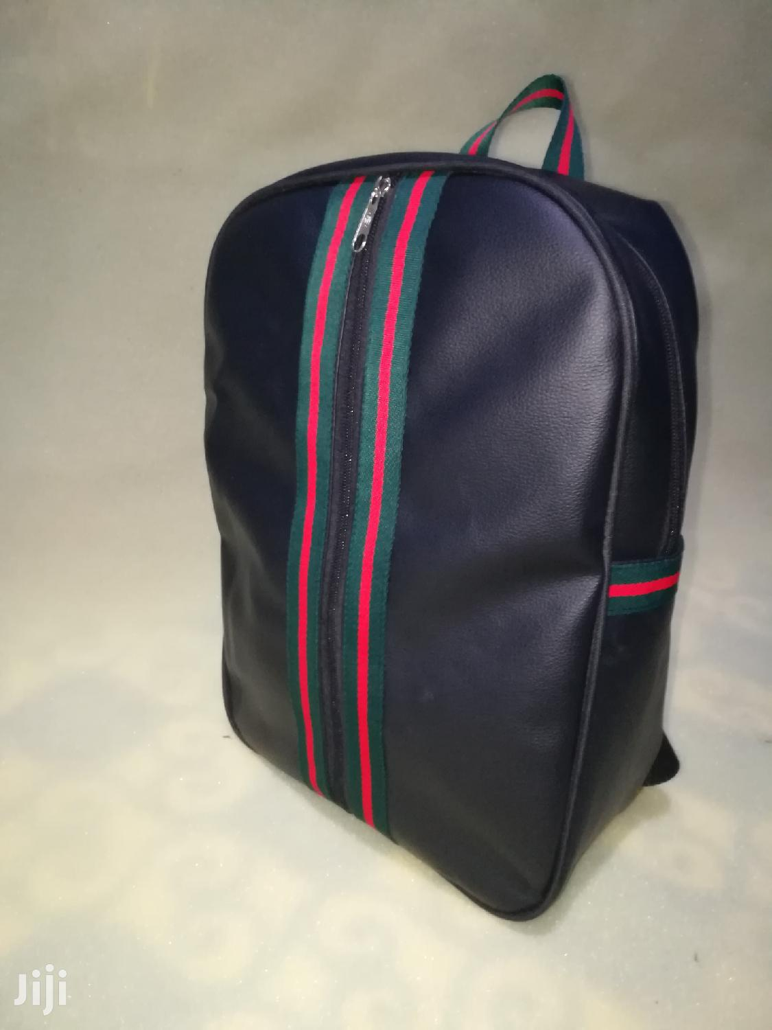 Black Leather Gucci Backpack | Bags for sale in Achimota, Greater Accra, Ghana