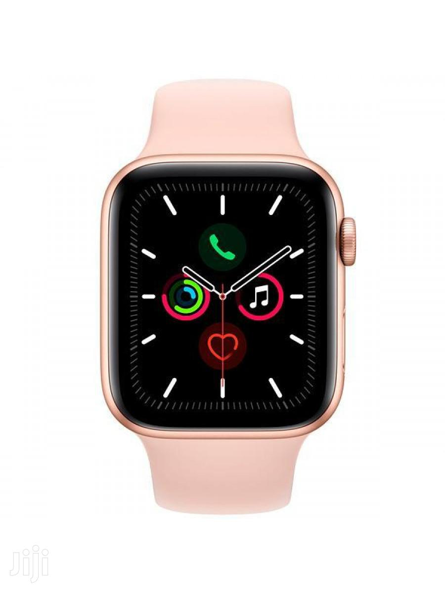 Apple Watch Series 5 Gold 44m | Smart Watches & Trackers for sale in Adenta Municipal, Greater Accra, Ghana