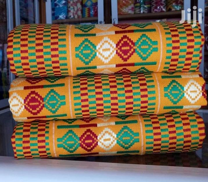 Beautiful Yellow Bonwire Kente Cloth   Clothing for sale in Accra Metropolitan, Greater Accra, Ghana