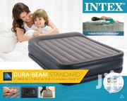 Intex Deluxe Raised 2 Pers. Airbed Built-in Pump 81.2 X 60 X 16.5 Inch | Furniture for sale in Greater Accra, Ga South Municipal