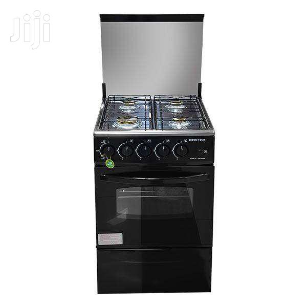 CROWNSTAR GAS STOVE 4 BURNER BLACK | Kitchen Appliances for sale in Adenta Municipal, Greater Accra, Ghana