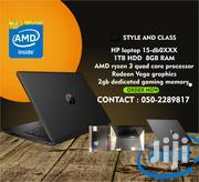New Laptop HP 15-Ra003nia 8GB AMD Ryzen HDD 1T | Laptops & Computers for sale in Ashanti, Kumasi Metropolitan
