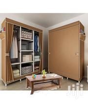 Triple Brown Foldable Wardrobe | Furniture for sale in Greater Accra, Kotobabi