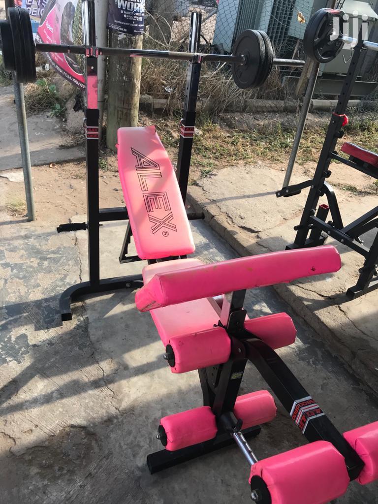 Archive: Training Bench Alex