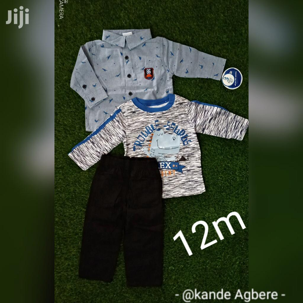 Baby Boy 3pc Set | Children's Clothing for sale in Adenta Municipal, Greater Accra, Ghana