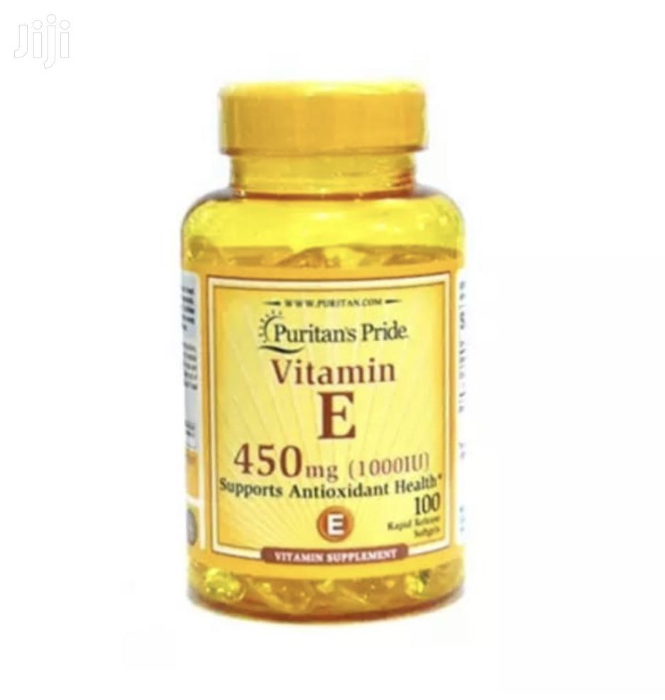 Archive: Puritans Pride Vitamin E -100 Soft Gel