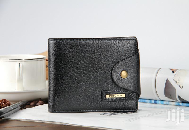 Authentic Black Leather Mens Wallets