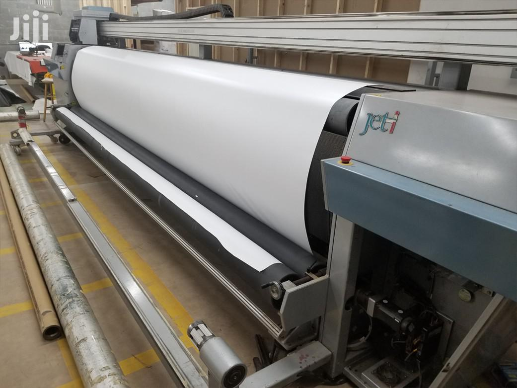 Large Format Solvent Printer Made In Canada