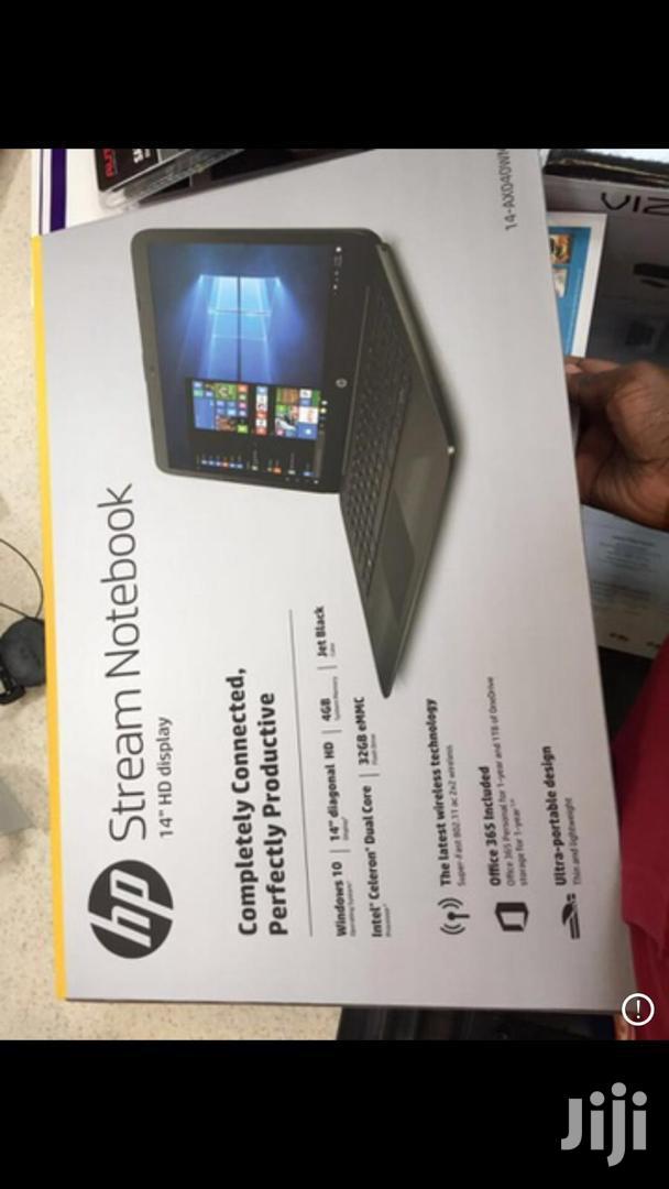 Archive: New Laptop HP Stream 14 4GB Intel Celeron SSD 32GB