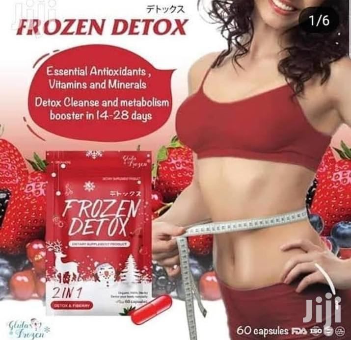 Frozen Detox Flat Tummy Slimming Pills | Vitamins & Supplements for sale in Kumasi Metropolitan, Ashanti, Ghana