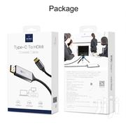 WIWU Type-c To HDMI Cable 2M | Accessories & Supplies for Electronics for sale in Greater Accra, Dzorwulu