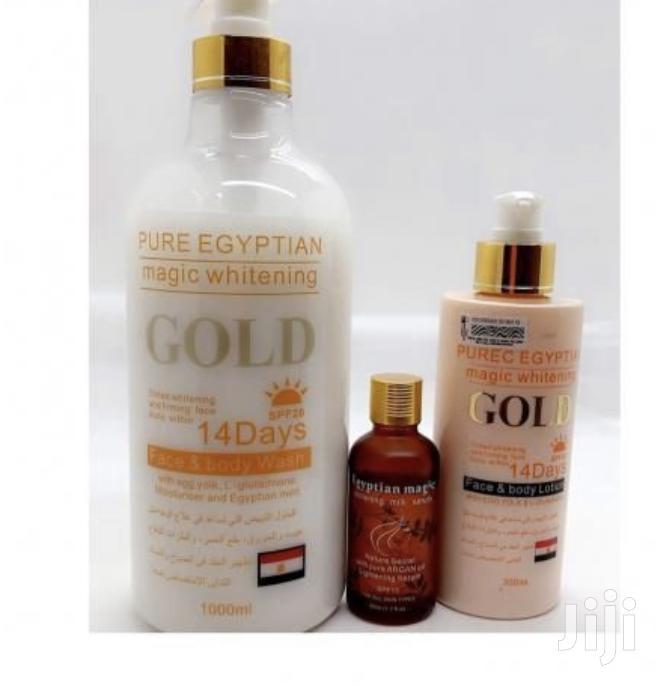 Whitenining Set, Shower Gel, Oil, Lotion/ 14days