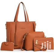 Four Pieces Set PU Leather Shoulder/ Handbag | Bags for sale in Eastern Region, Lower Manya Krobo
