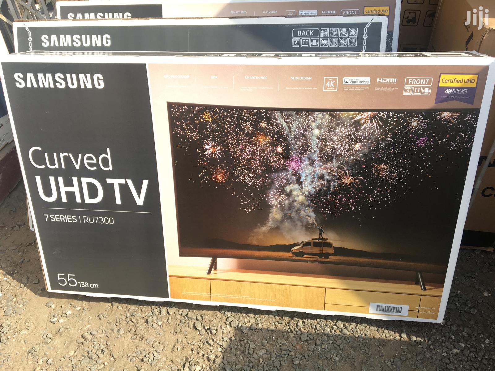 "Samsung 55""Inch Ultra HD Smart Wifi Curved Led TV(2019)"