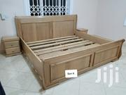 Local Wood Queen Size Bed | Furniture for sale in Ashanti, Kumasi Metropolitan