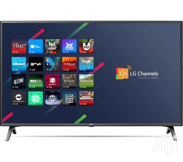 """LG 65""""] 4K Ultra HD Smart TV Wi-Fi Black 65UM7100PLB"""