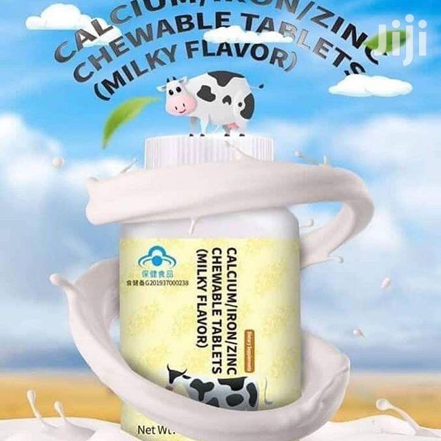Longrich Zinc Iron Calcium Supplement (100 Tablets)