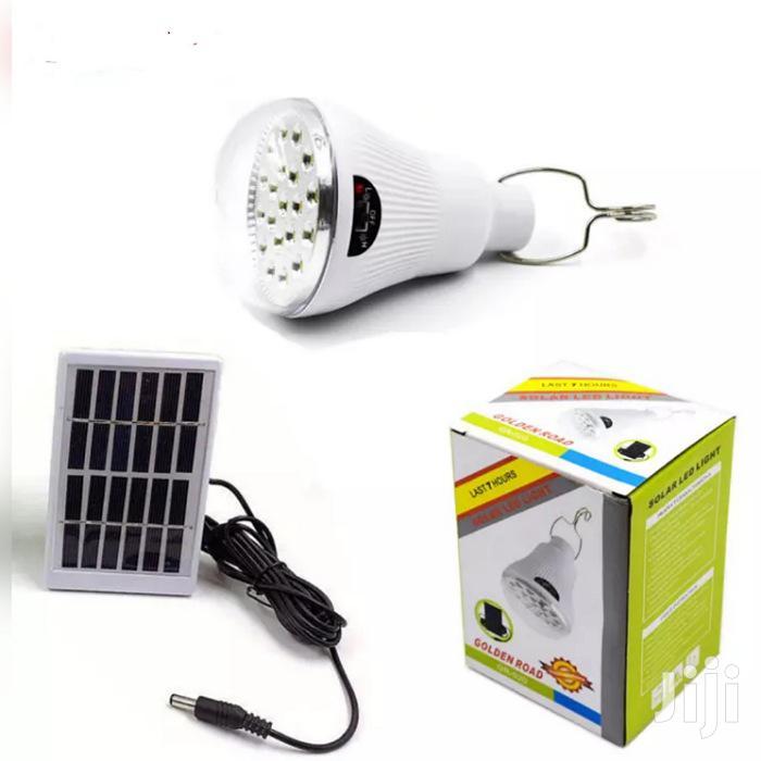 Waterproof Solar LED Light Bulb