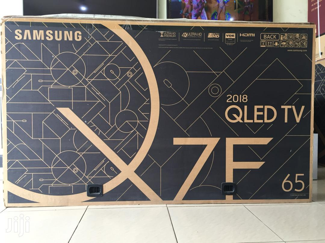 Samsung 65 Inch 4K Ultra HD QLED Smart TV - QA65Q7FAM | TV & DVD Equipment for sale in Accra new Town, Greater Accra, Ghana
