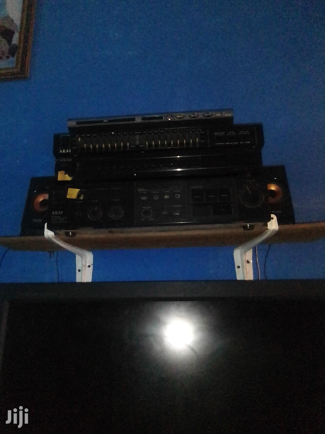 Archive: Set of AKAI Amplifier, Equalizer and Tuner for Sale