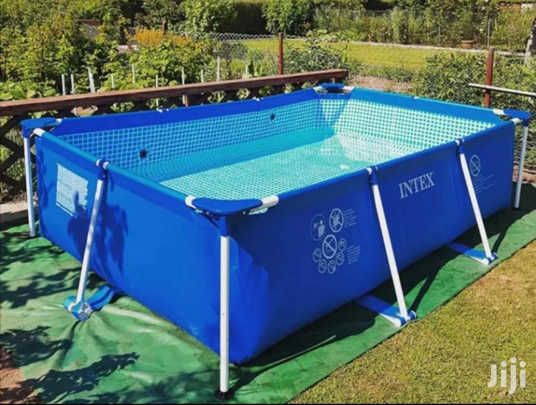 Rectangular Frame Swimming Pool
