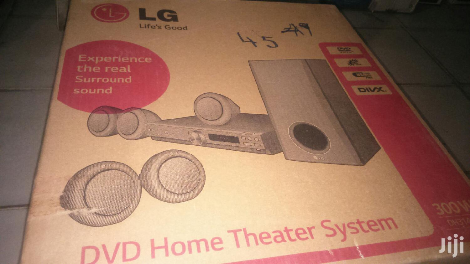 Fresh In Box LG 300W DVD Home Theater System Dh3140s