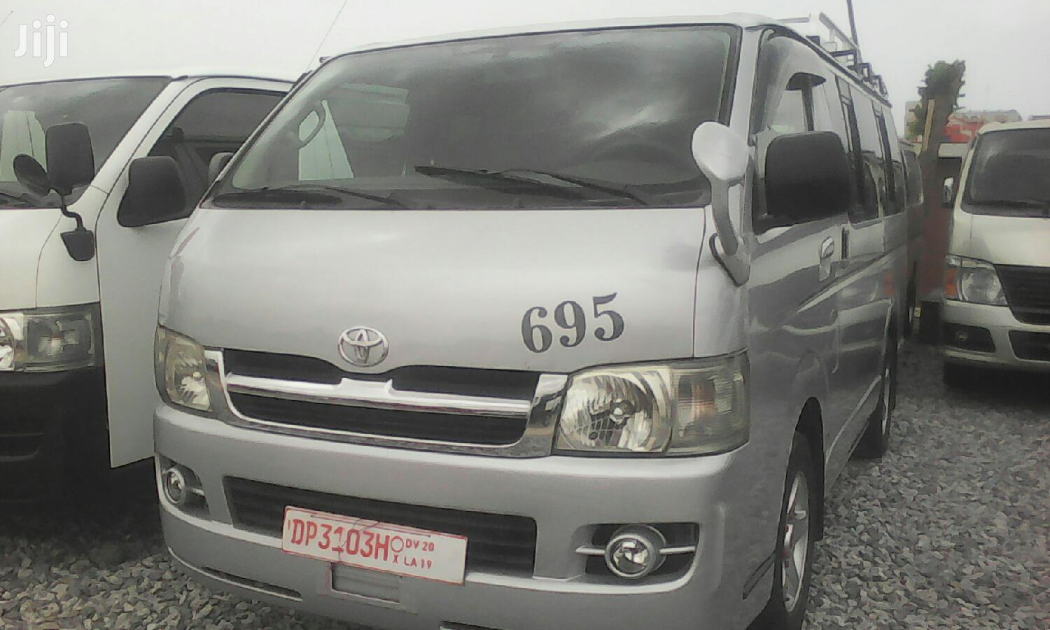 Archive: A Home Used Toyota Hiace For Sale