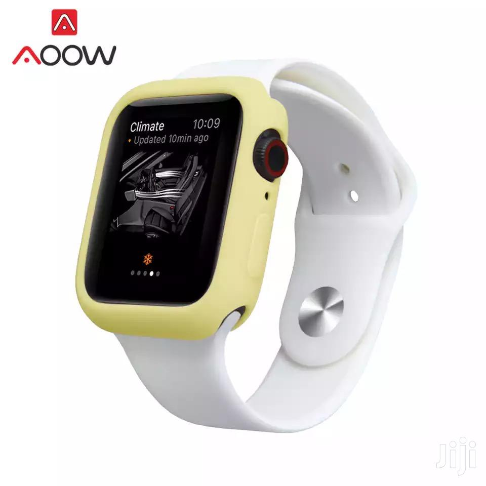 Silicone Bumper Case For Apple Watch Series 1 2 3 4 5 | Smart Watches & Trackers for sale in Ga South Municipal, Greater Accra, Ghana