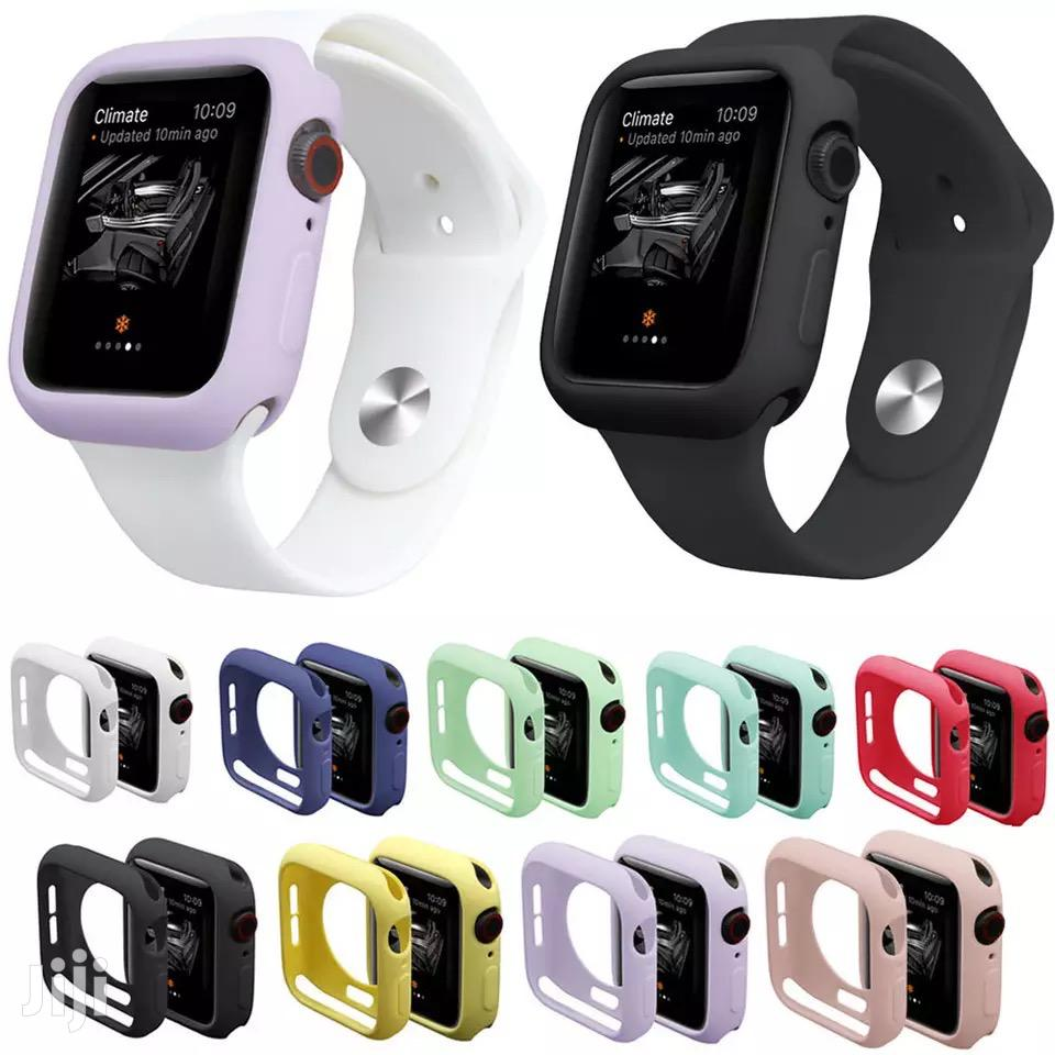 Silicone Bumper Case For Apple Watch Series 1 2 3 4 5