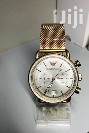 Emperor Gorgio Armani Classic Watch