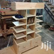 Quality Wooden Shoes Stand With Closet | Furniture for sale in Ashanti, Kumasi Metropolitan