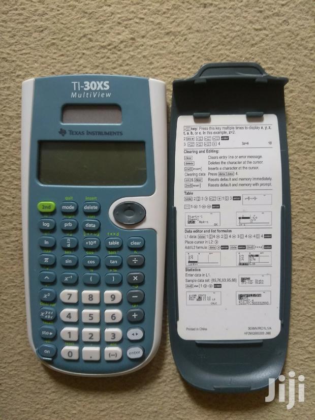 Archive: Ti-30xs Multiview Scientific Calculator