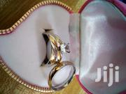 Sterling Silver Wedding Ring With Partial Gold Plating | Wedding Wear for sale in Greater Accra, East Legon