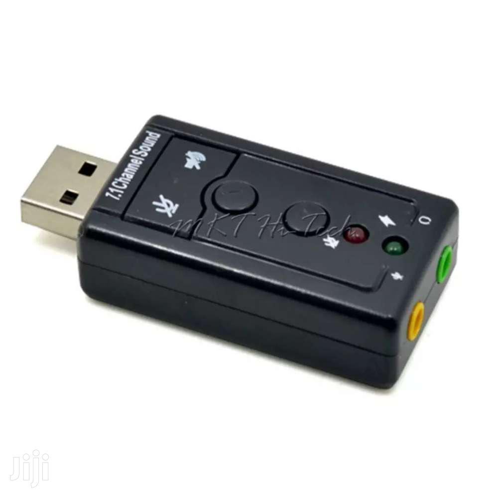 Archive: USB 7.1 Sound Card Adapter