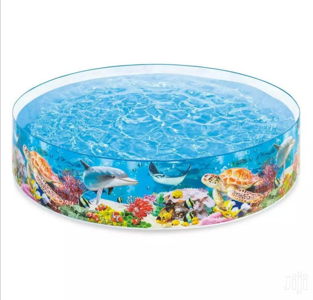 Deep Ocean Swimming Pool