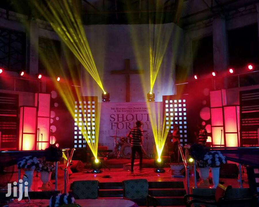 Stage And Event Lighting | DJ & Entertainment Services for sale in Ga East Municipal, Greater Accra, Ghana