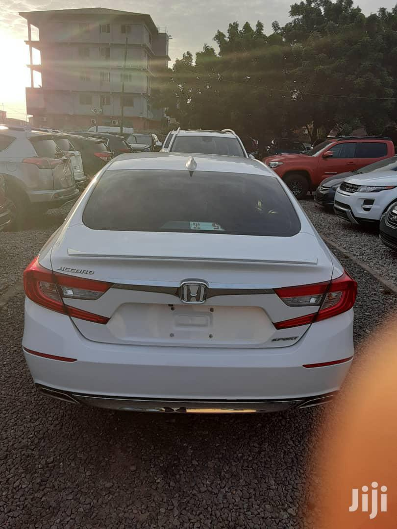 Honda Accord 2018 Sport White | Cars for sale in Teshie-Nungua Estates, Greater Accra, Ghana