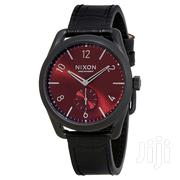 Nixon Red Dial (39mm) Alligator Strap   Watches for sale in Greater Accra, Adenta Municipal