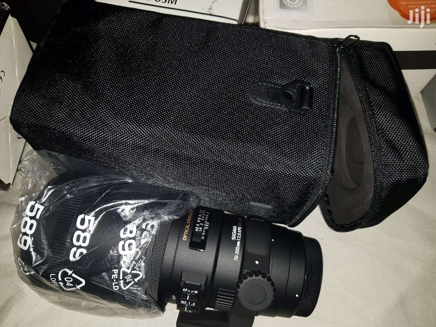 Nikon Fit Sigma 70-200mm F2.8 Apo Dg Hsm OS Telephoto Lens | Accessories & Supplies for Electronics for sale in Kokomlemle, Greater Accra, Ghana