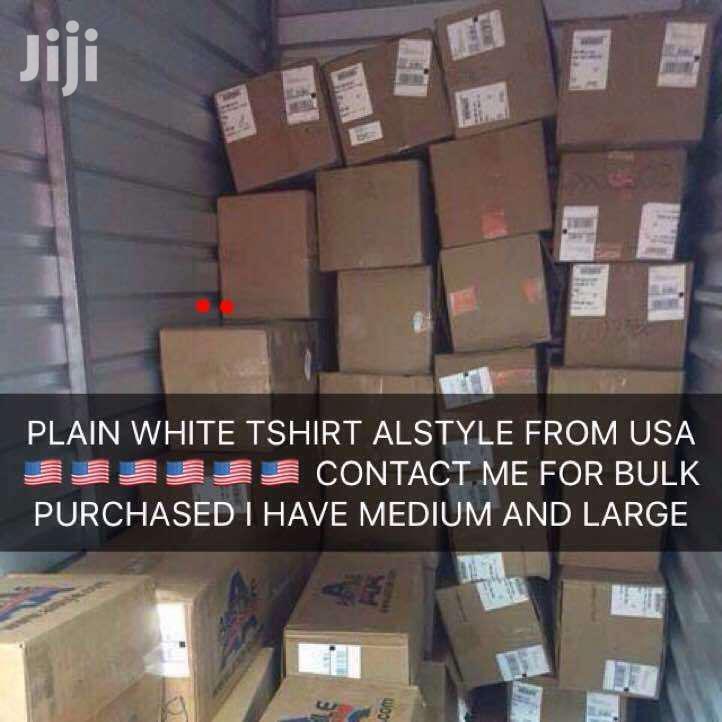 Plain T-shirt Alstyle