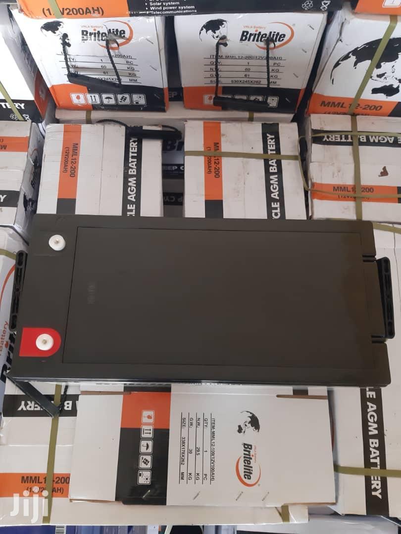 Solar Gel Batteries Promotion