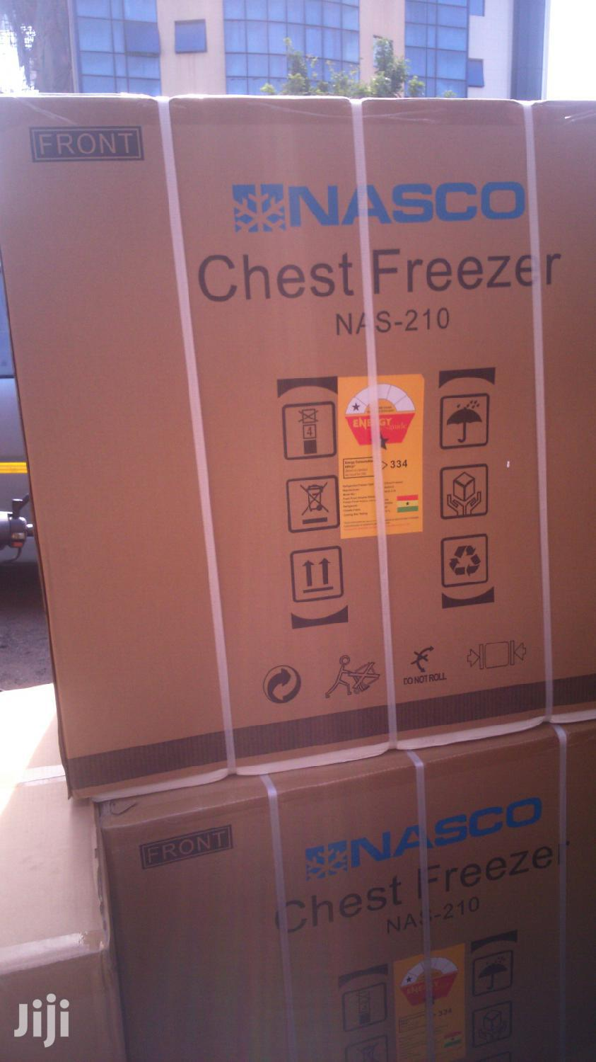 Nasco 200L Chest Freezer (Nas-210) Available In Stock