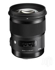 Sigma 50mm F/1.4 DG HSM Art Lens For Canon EF | Accessories & Supplies for Electronics for sale in Greater Accra, Achimota