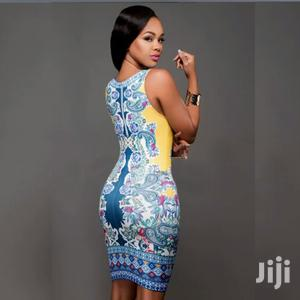 Floral Print Bodycon Dress | Clothing for sale in Greater Accra, Accra Metropolitan