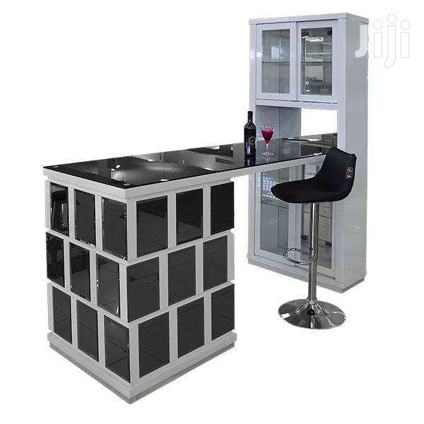 NEW GLOSSY BAR COUNTER GLASS | Furniture for sale in Adenta Municipal, Greater Accra, Ghana