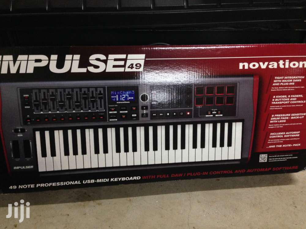 Archive: Novation Impulse 49 - USB MIDI Keyboard Controller