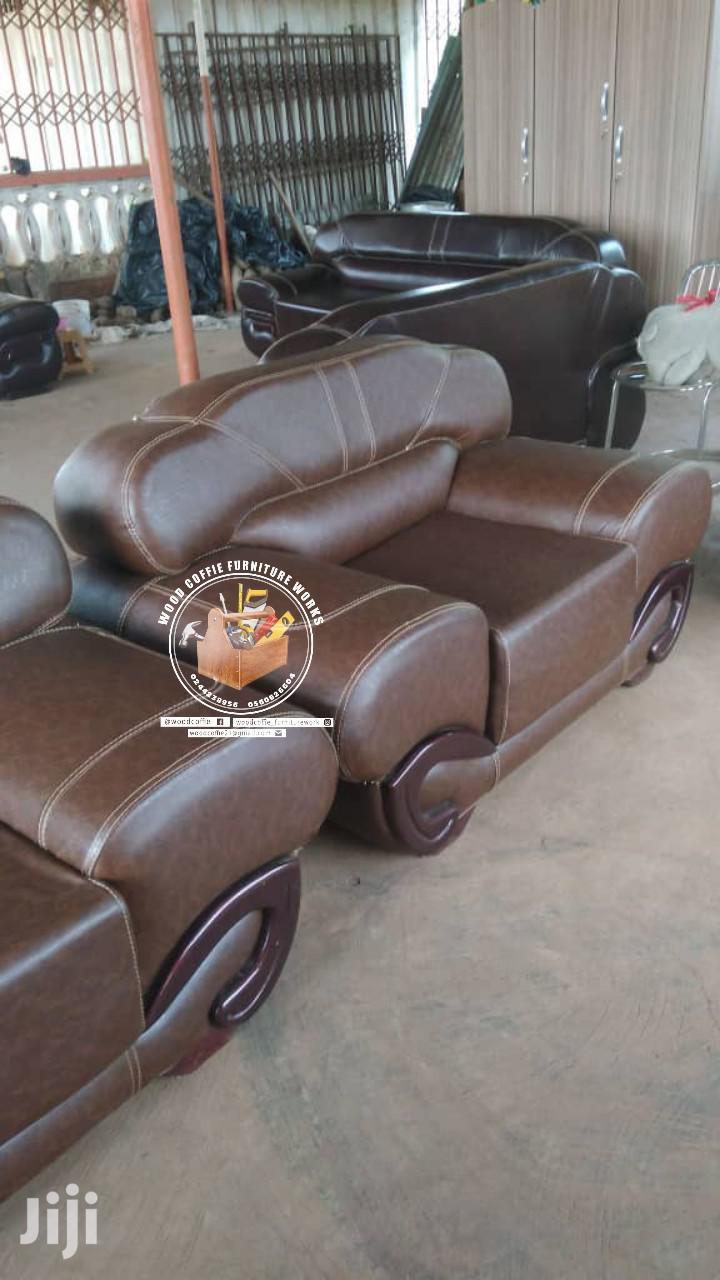 Quality Leather Living Room Sofa