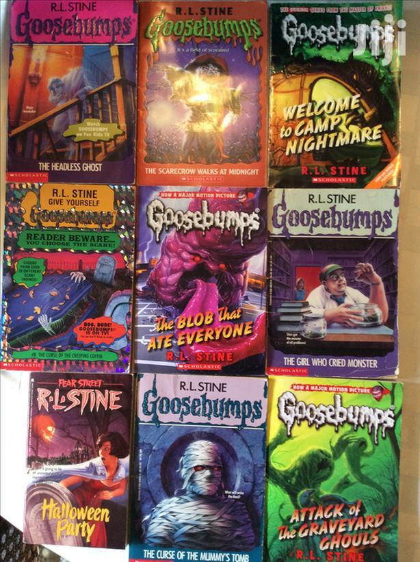 Archive: Goosebumps Storybooks For Children For Sale